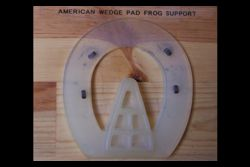 American Wedge Pad Frog Support